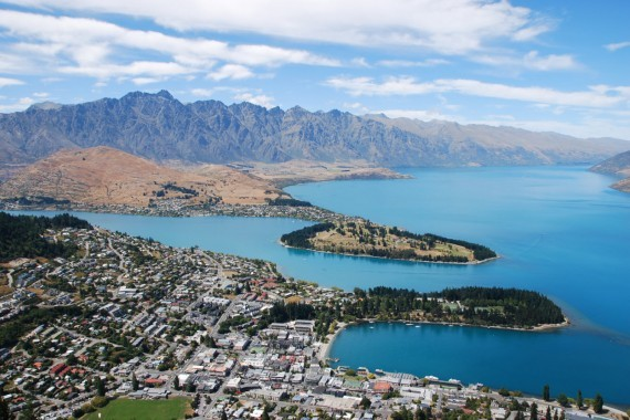 Queenstown from the top 19
