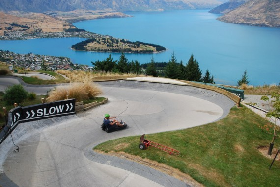 Queenstown from the top 02