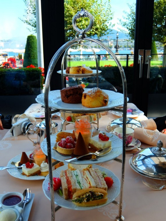 Hotel Angleterre afternoon tea 11