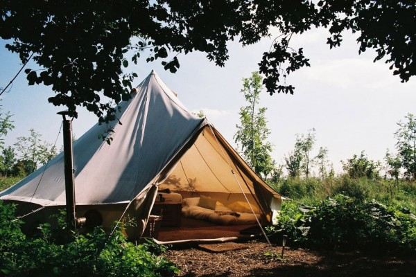 Glamping at the Farm Camp