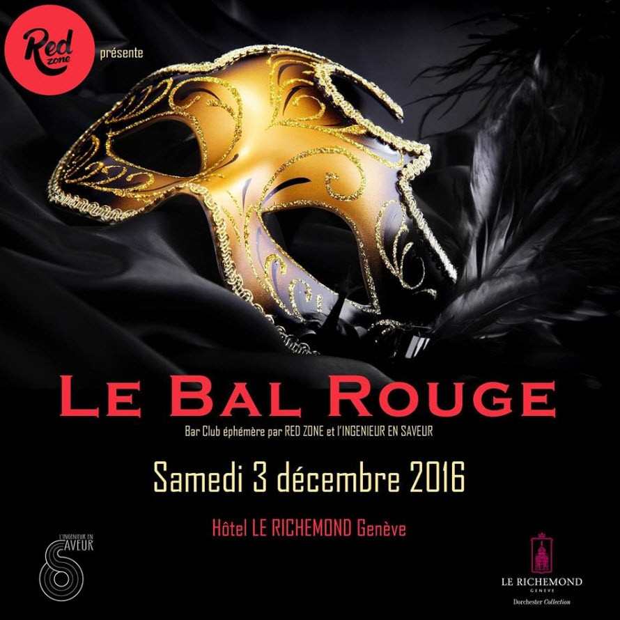 Bal Rouge Le Richemond