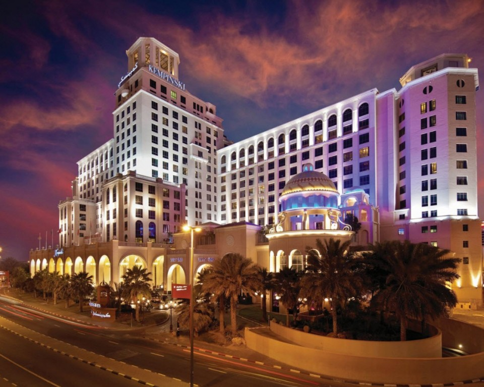 Visite du Kempinski Mall of the Emirates Dubai