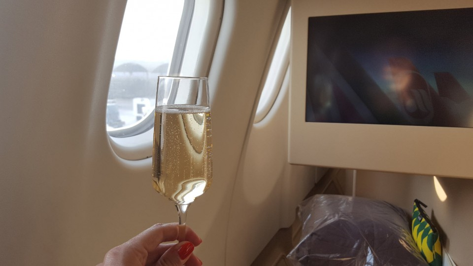 Etihad Airways Business Class (Abu Dhabi-Geneva)