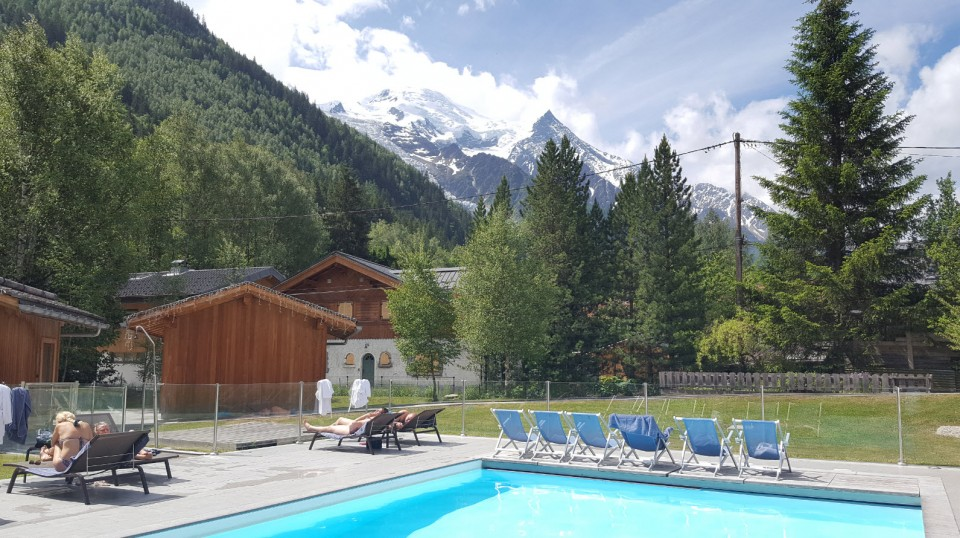 Weekend spa et montagne à Chamonix