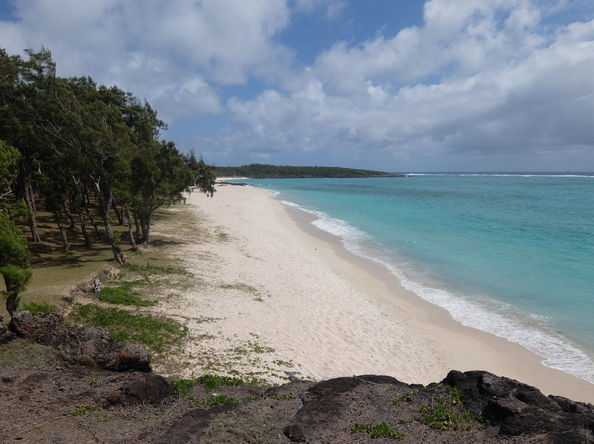 Plage a Rodrigues