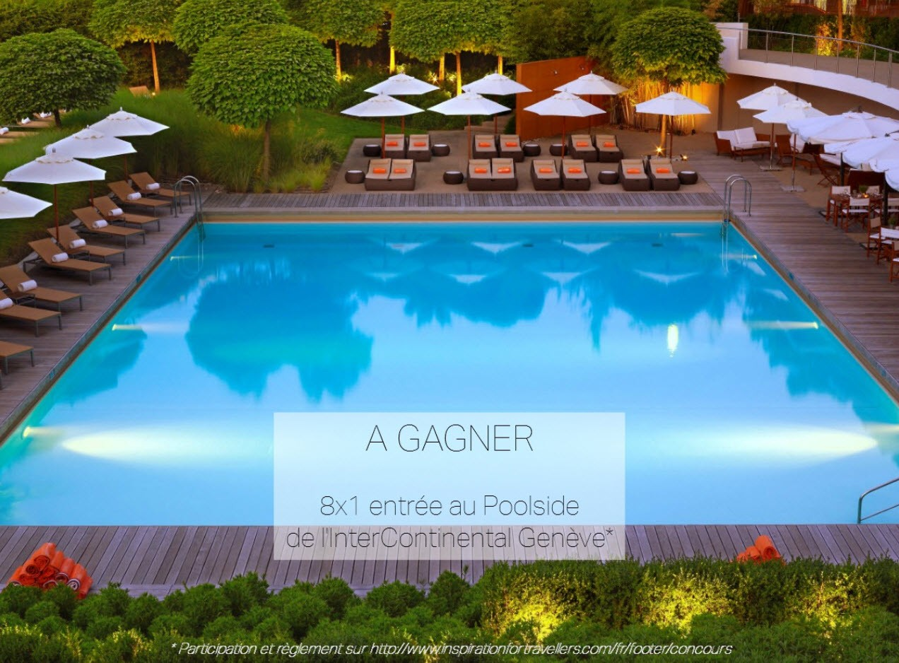 Concours Poolside Geneve