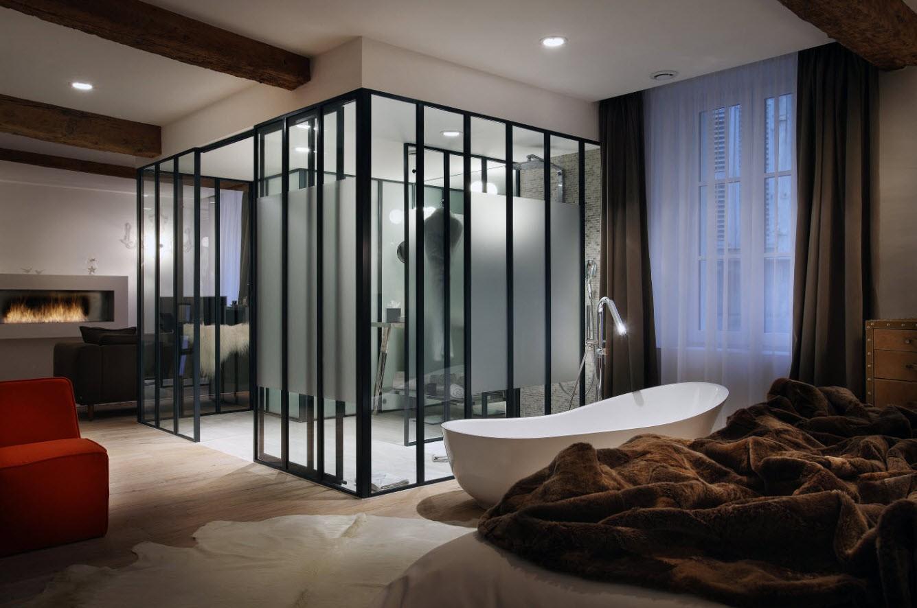 h tel avec chemin e dans la chambre inspiration for. Black Bedroom Furniture Sets. Home Design Ideas