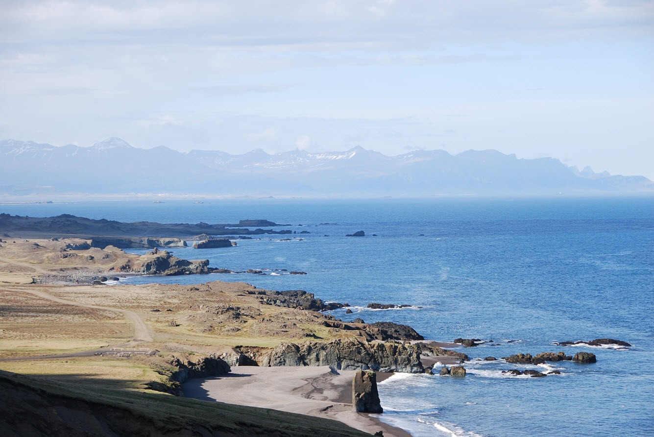 Longer la cote du sud South Iceland