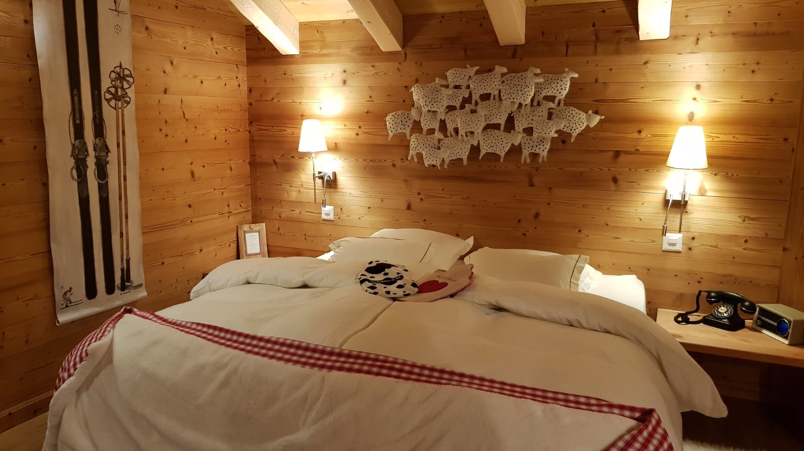 Hotel charmant Champery