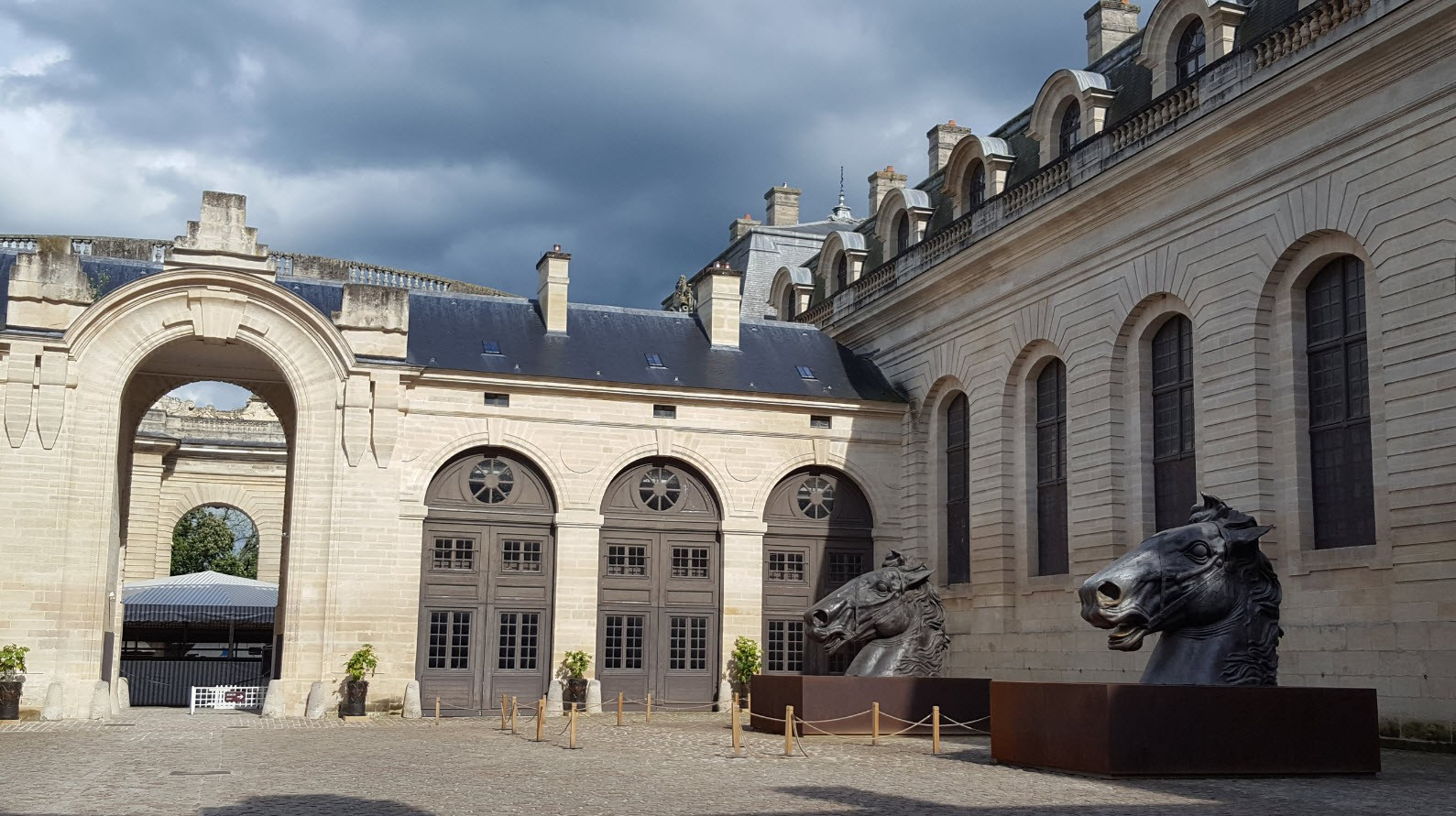 Cour des remises Chantilly