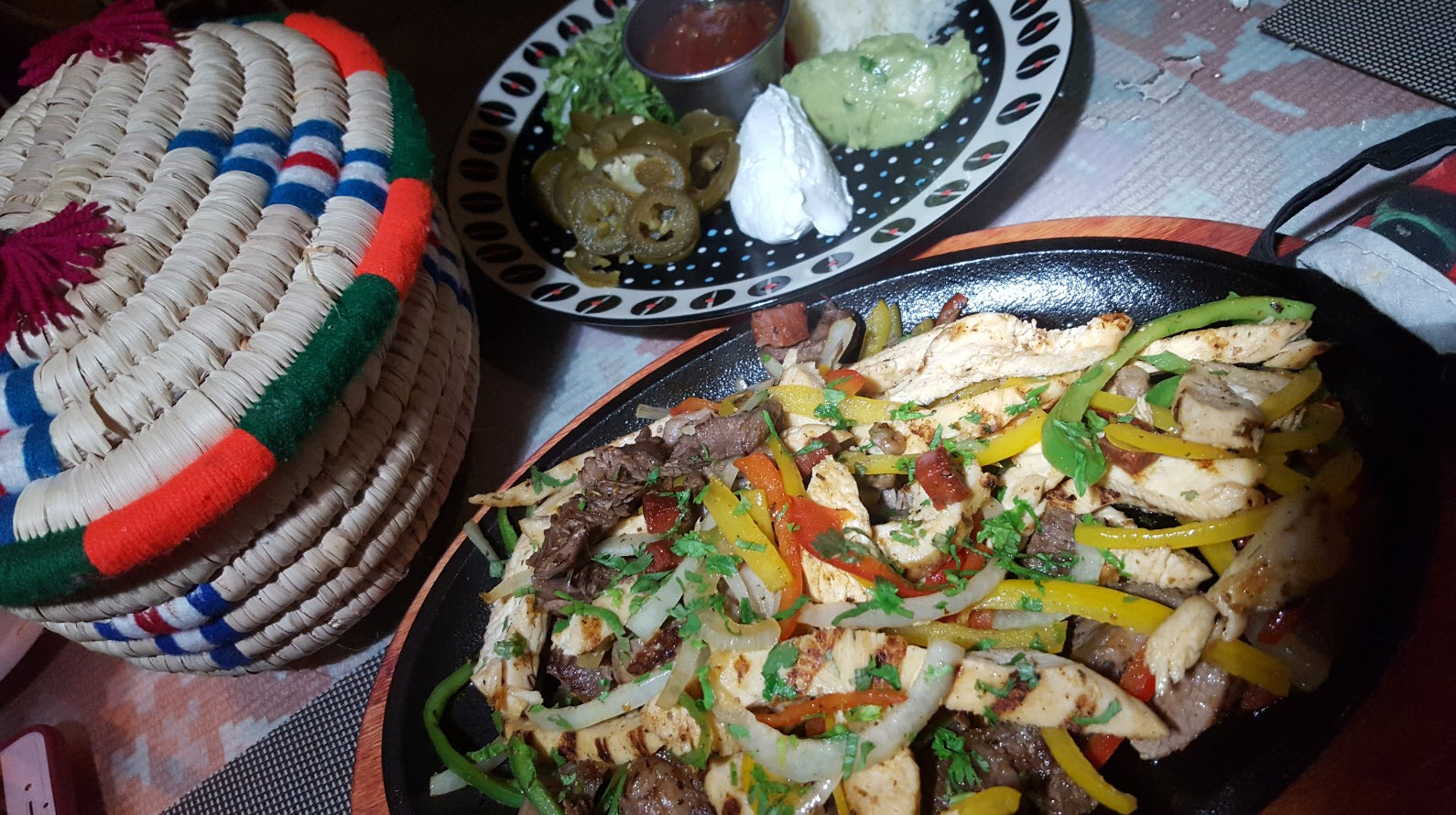 Assortiment specialites mexicaines
