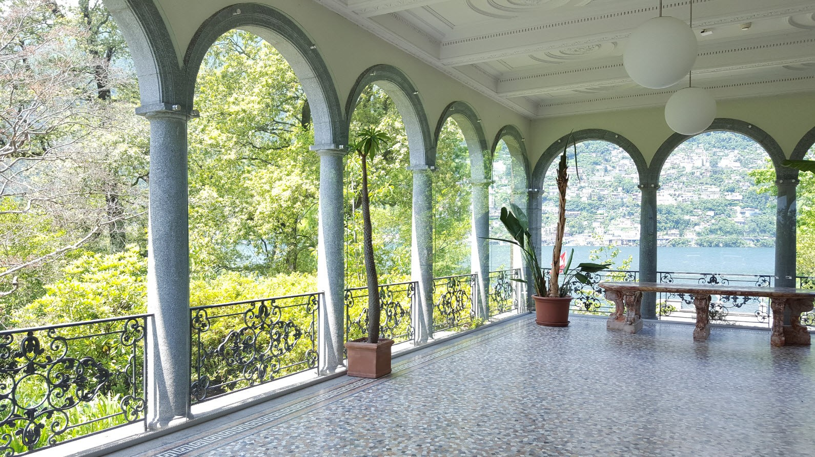 Salle de reception Isole di Brissago