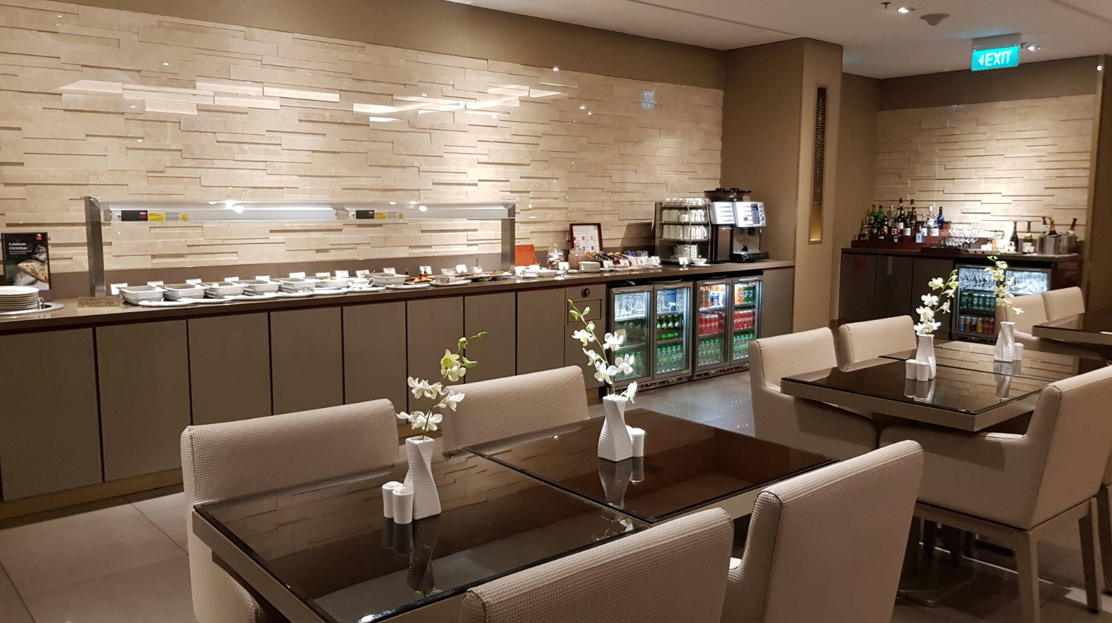 Emirates Business Lounge Singapour