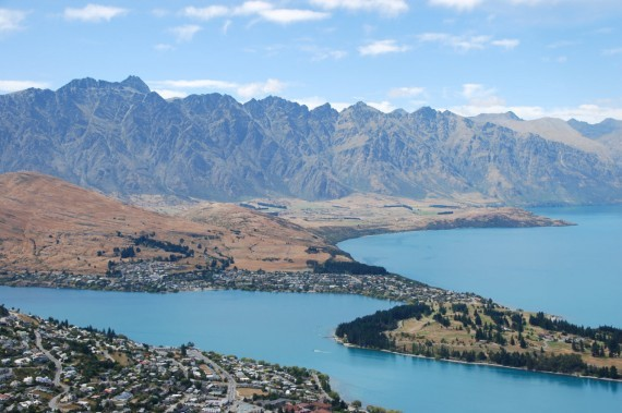 Queenstown from the top 10