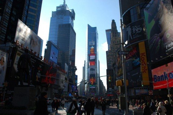 Times Square New York by day (12)