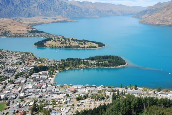 Queenstown from the top 11