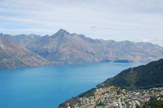 Queenstown from the top 15
