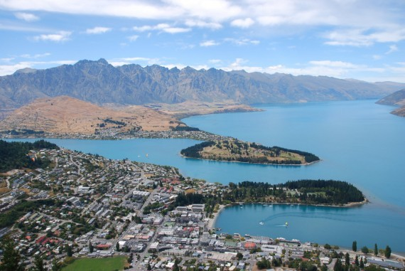 Queenstown from the top 07