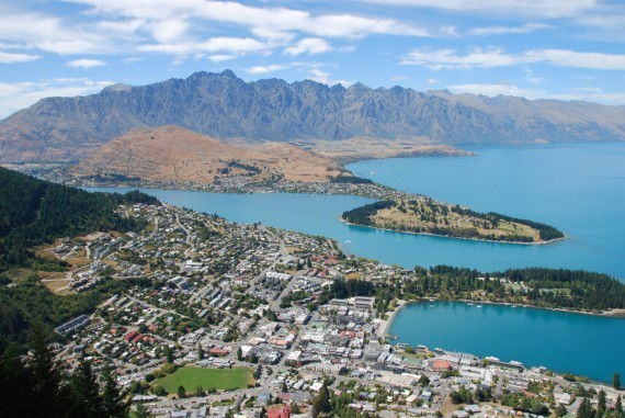 Queenstown from the top 13