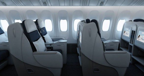 Air France business class 01