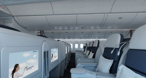 Air France business class 05
