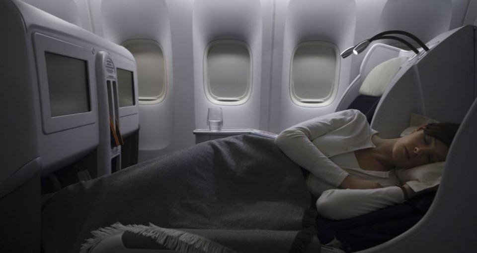 Air France Business Class (Genève-Libreville)