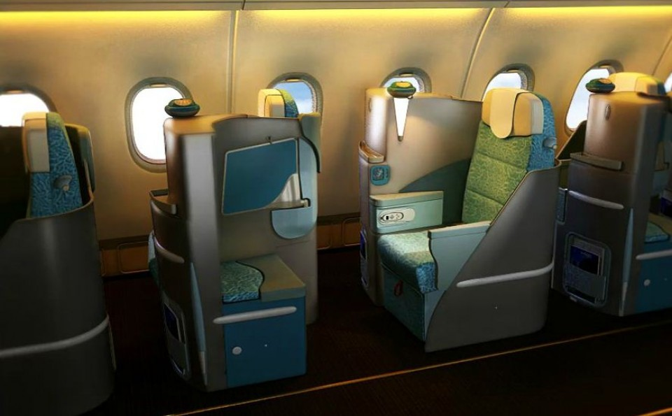 Etihad Airways Business Class (Genève-Sydney)