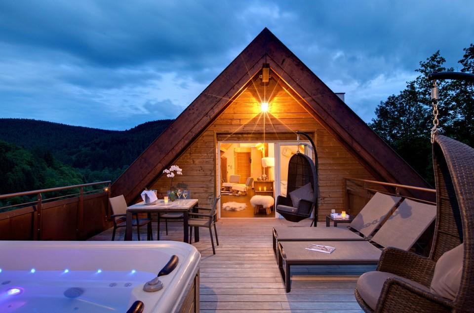 Un jacuzzi dans sa chambre d'hôtel ? | Inspiration for Travellers